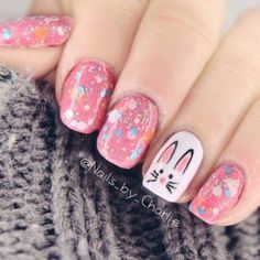 From cute bunny-print styles to eye-catching pom pom nails, we've picked out the ten cutest manicure ideas. Bright colours and pastels working perfectly together in these awesome nail design.