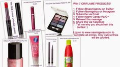 Diva Mode - Indian Fashion, Beauty, Health and Lifestyle Blog: Win 7 must have ORIFLAME PRODUCTS - Giveaway and O... Winning Time, Online Contest, One Color, Indian Fashion, Lifestyle Blog, Mascara, Must Haves, Giveaway, Diva
