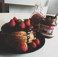 Resultado de imagen para chocolate nutella tumblr