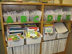 Way to organize the leveled readers, do by DRA.