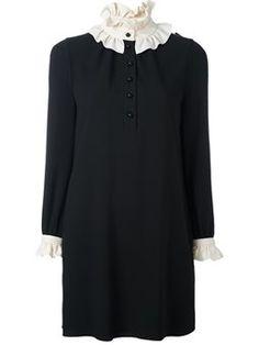 robe courte bicolore