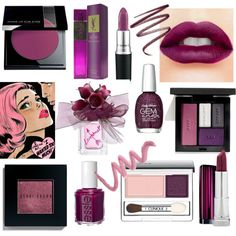 """Pantone 2014 color Radian Orchid make up"" by ladywarrior on Polyvore"