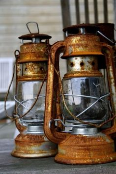 Lantern // Rust // Abandoned