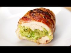 Bacon Guacamole Chicken Bombs - YouTube