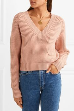 Chloé | Ribbed wool sweater | NET-A-PORTER.COM