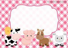 Farm Animal Party, Farm Animal Birthday, Cowgirl Birthday, Farm Birthday, Farm Party, Cow Birthday Parties, Cartoon Cow, Baby Album, Farm Theme