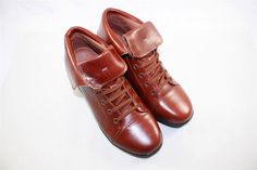 NEW Gravity Defyer Georgette Brown Patent Leather Boots Comfort RETAIL $139 #GravityDefyer #GeorgetteLeatherBoots