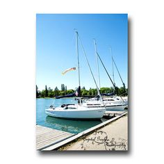 Sailboat Art Photography Boat Decor Marina Outdoor photo print Bright blue captain sailor gift, Home