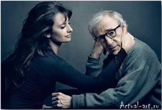 Пенелопа Крус и Вуди Аллен__Энни Лейбовиц (Annie Leibovitz)_Photography_23