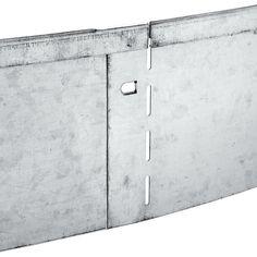 manufactum - galvanised steel edging strip