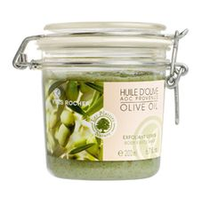 Kuorinta-aine vartalolle Provencen oliiviöljy