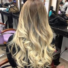 blonde ombre hair - atianacla's photo on SnapWidget