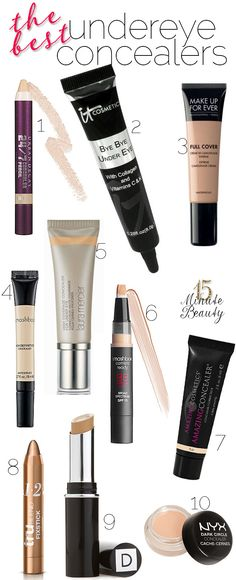 My Favorite Under Eye Concealers via @15 Minute Beauty
