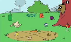 PEEP: Trash Stash. ages 3-5 / free / ipad, iphone, Android. Peep, from PBS' Peep and the Big Wide World, joins his friend the raccoon in this free app that helps kids develop a sense of categorization.  The raccoon has lots of trash in his tree, and kids explore different types of categories as they sort different piles of trash.