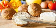 Frisch selbst gebacken & wunderbar duftend, was gibt es Schöneres zum Frühstück. Du wirst diese Low Carb Brötchen lieben :D