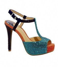 dc80046ccee Sparkly multicolor shoes from Gianni Bini