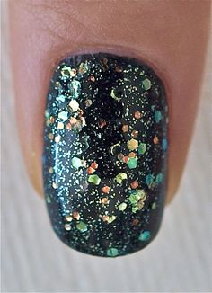 Make a spectacle from china glaze