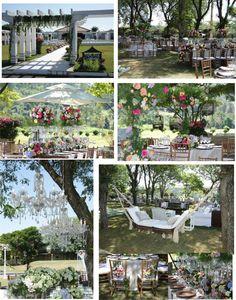 Wedding reception ideas for summer wedding