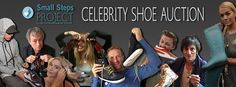 Celebrity Shoe Auction for Small Steps Project