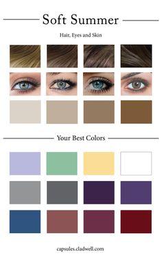 """Képtalálat a következőre: """"soft summer palette colors"""""""