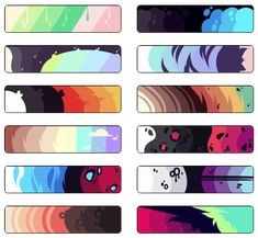 Adopt Color Palettes #1 | F2U by Owiru on DeviantArt Color Schemes Colour Palettes, Pastel Colour Palette, Colour Pallete, Color Palette Challenge, Palette Art, Art Prompts, Digital Art Tutorial, Art Reference Poses, Drawing Reference