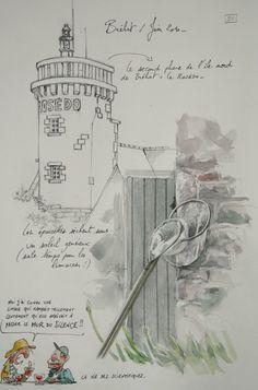 Une bretagne par les contours/ Ile de Bréhat