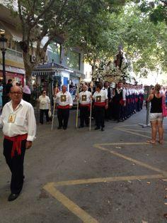 Marbella, Celebrating El Día de la Virgen del Carmen