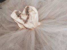 Stunning vintage pink professional ballet tutu ballerina dress costume theater millinery flower garland tulle long rare shabby french