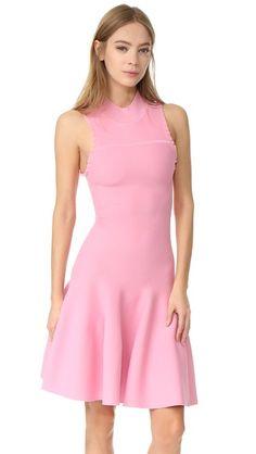 Carven Sleeveless Flared Dress