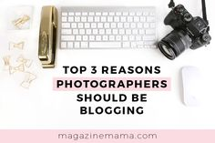 While many photographers have a blog, only a few are using it strategically to grow their business and get new clients. It's common that photographers avoid blogging because they don't know what to write or they get stuck creating content. Does this sound like you? If so check out these top 3 reasons photographers should be blogging: http://www.magazinemama.com/blogs/editors-blog/86576644-top-3-reasons-photographers-should-be-blogging