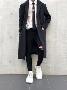 Men S Fashion Advice Info: 7782765038 - Men's fashion, style shapes and clothing tips Korean Fashion Men, Korean Street Fashion, Ulzzang Fashion, Boy Fashion, Fashion Edgy, Style Fashion, Fashion Vest, Latex Fashion, Cheap Fashion
