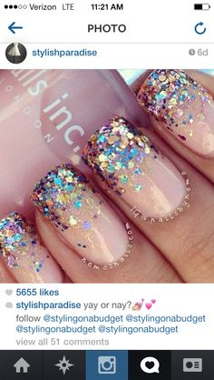 Getting these done with gel polish! Love