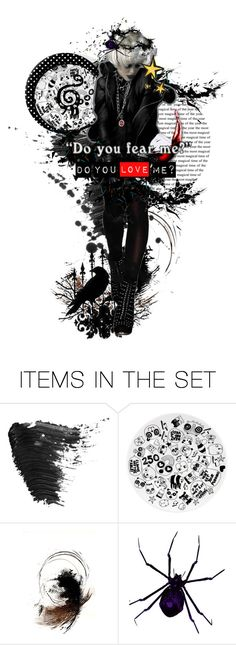 """""""Do you fear me? Do you love me?"""" by amrodrigues03 ❤ liked on Polyvore featuring art"""