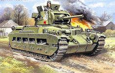 The Soviets received between 1,000 and 3,000 Matilda IIs and these set right to work in the 1941 Winter Offensive. Like other adaptable platforms in existence, the Matilda also served well through her various conversions designed to undertake various battlefield and non-combat roles as required.