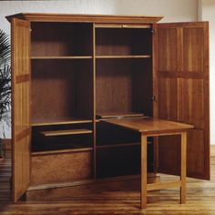 office armoire, tini offic, offic armoir, homes, cherries, armoires, home offices