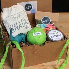 Dinosaur Surprise Ball Birthday Box - Birthday Gift // Kids Gift // Boy Birthday Gift // Girl Birthday Gift // Handmade Gift // Child Gift