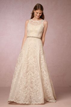 Lyra Gown from @BHLDN