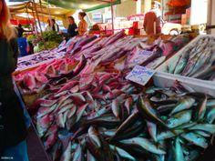 Fischmarkt-in-Kreta Workshop, Food, Greek Dishes, Seafood Market, Crete, New Recipes, Meal, Easy Meals, Cooking