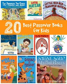 20 Best Passover Children's Books   From board books to novels, find all the best books for teaching your children about #Passover.