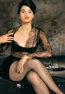 Crystal Renn is a fierce plus size model...appeared in all four international editions of Vogue magazine. Work it gurrrl