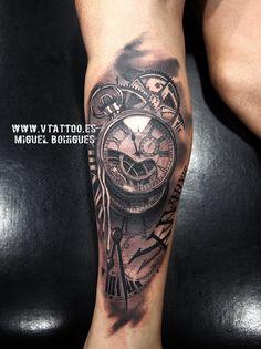 reloj tatuaje v tattoo copia