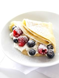 Sweet and Savory Crepes for a DIY brunch foodiecrush.com #recipe