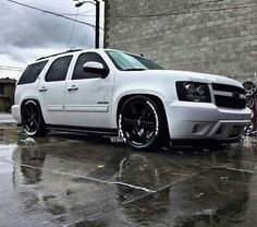 Chevy Tahoe More - Dropped Trucks, Lowered Trucks, Gm Trucks, Cool Trucks, Chevy Trucks, Pickup Trucks, Chevy Pickups, Chevrolet Silverado, Chevrolet Trailblazer