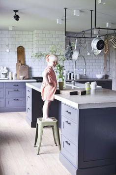 Méchant Design: Norwegian life style Concrete island worktop