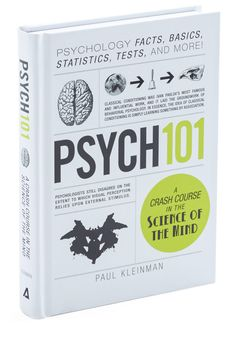 Psych 101. Get your synapses firing with this fascinating guide to the field of psychology. #multi #modcloth