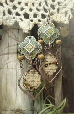 Altered Alchemy : Earrings Explosion!