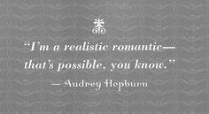 realistic romantic @Kristen Eager