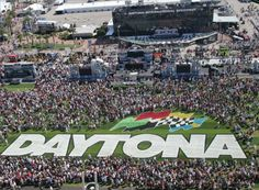 "Daytona International Speedway -- One of my favorite tracks! Love it! I go here every year. It's my ""home"" track. :-)"