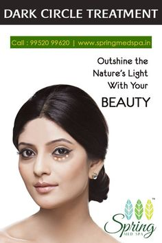 Dark Circles Treatment, Spa, Spring, Nature, Beauty, Beleza, Cosmetology, The Great Outdoors, Mother Nature