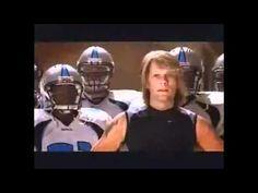 A hilarious commercial with John Elway and my idol Jon Bon Jovi.